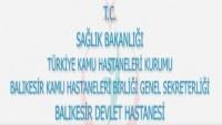 Balıkesir Devlet Hastanesi İş Başvurusu