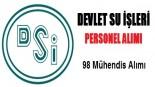 Devlet Su İşleri (DSİ) 98 Personel Alımı Yapacak