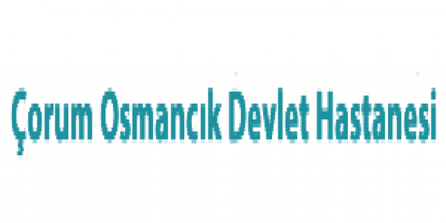 Çorum Osmancık Devlet Hastanesi İş Başvurusu