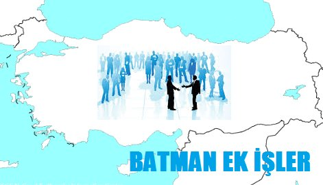 Batman Ek İş İlanları