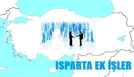 Isparta Ek İş İlanları