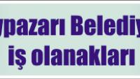 Beypazarı Belediyesi İş Başvurusu