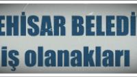 İscehisar Belediyesi İş Başvurusu